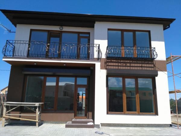 остекление частного дома в пригороде Симферополя